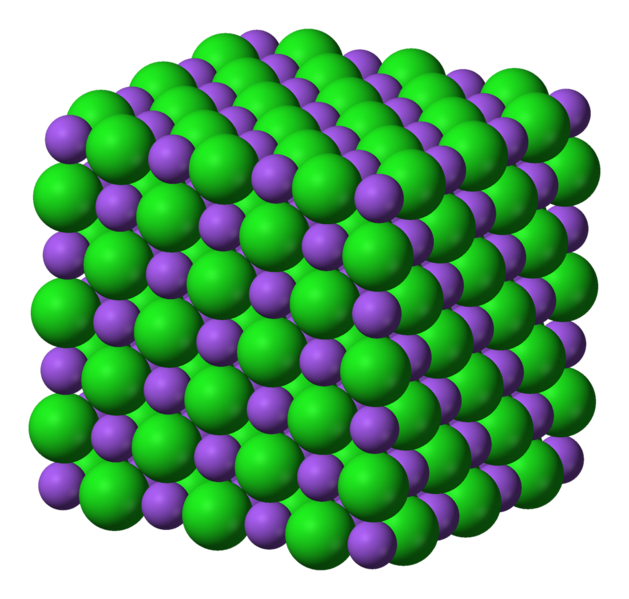 Structure of Sodium Chloride Ionic